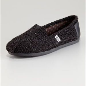 Neiman Marcus Exclusive Black Guthrie Boucle Toms